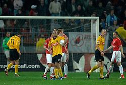 09-05-2007 VOETBAL: PLAY OFF: UTRECHT - RODA: UTRECHT<br /> In de play-off-confrontatie tussen FC Utrecht en Roda JC om een plek in de UEFA Cup is nog niets beslist. De eerste wedstrijd tussen beide in Utrecht eindigde in 0-0 / Adil Ramzi<br /> ©2007-WWW.FOTOHOOGENDOORN.NL
