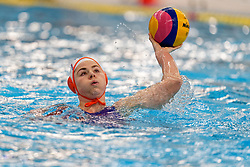 Vivian Sevenich #8 of Netherlands in action during the friendly match Netherlands vs USA on February 19, 2020 in Amerena Amersfoort.