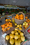 The produce stand sells seasonal fresh fruit and produce. The Center for Urban Agriculture at Fairview Gardens is one of the oldest organic farms in California. Located on over 12 acres, the 100-year-old farm provides the community with organic fruits and vegetables and through educational programs and public outreach demonstrate the economic viability of sustainable agricultural methods. Goleta, California