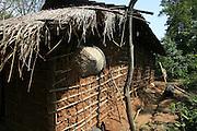 Mud adobe home, Pokutenna, Sri Lanka