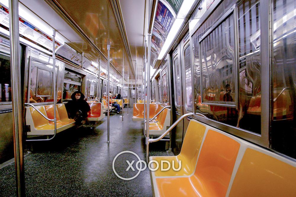 New York subway, New York, United States (March 2005)