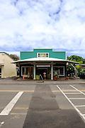Shop in main street of Honoka'a, Big Island, Hawaii
