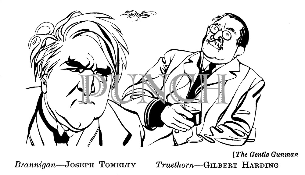 The Gentle Gunman ;  Joseph Tomelty and Gilbert Harding
