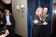 MACKENZIE CROOK; SONIA FRIEDMAN; MARK RYLANCE, Press night for Jerusalem. Apollo Theatre. Shaftesbury ave. After party at the Cafe de Paris. London. 10 February 2010