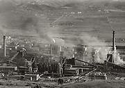 Elbasan had the largest metallurgical complex in Albania. The home of the 'Steel of the Party' integrated iron and steel works with a design capacity of around 750,000 tons per annum. Until 1990, this complex employed 12,000 people. <br /> <br /> Although the Elbasan blast furnaces and basic oxygen converters closed in 1991, small scale steel production from scrap metal continued from the plant's single Italian-made Danieli electric furnace until 2006, with less than 1,000 employees. These, too, were made unemployed in February 2006 when the Turkish company Kurum, which had been granted the concession to operate Elbasan, closed the plant and withdrew from Albania