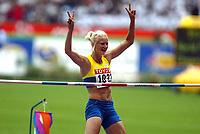 Athletics, 23. august 2003, VM Paris, World Championschip in Athletics,  Carolina Klüft, Sweden (Sverige)