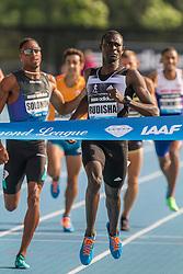 David Rudisha, Kenya, wins men's 800 meters, adidas Grand Prix Diamond League track and field meet