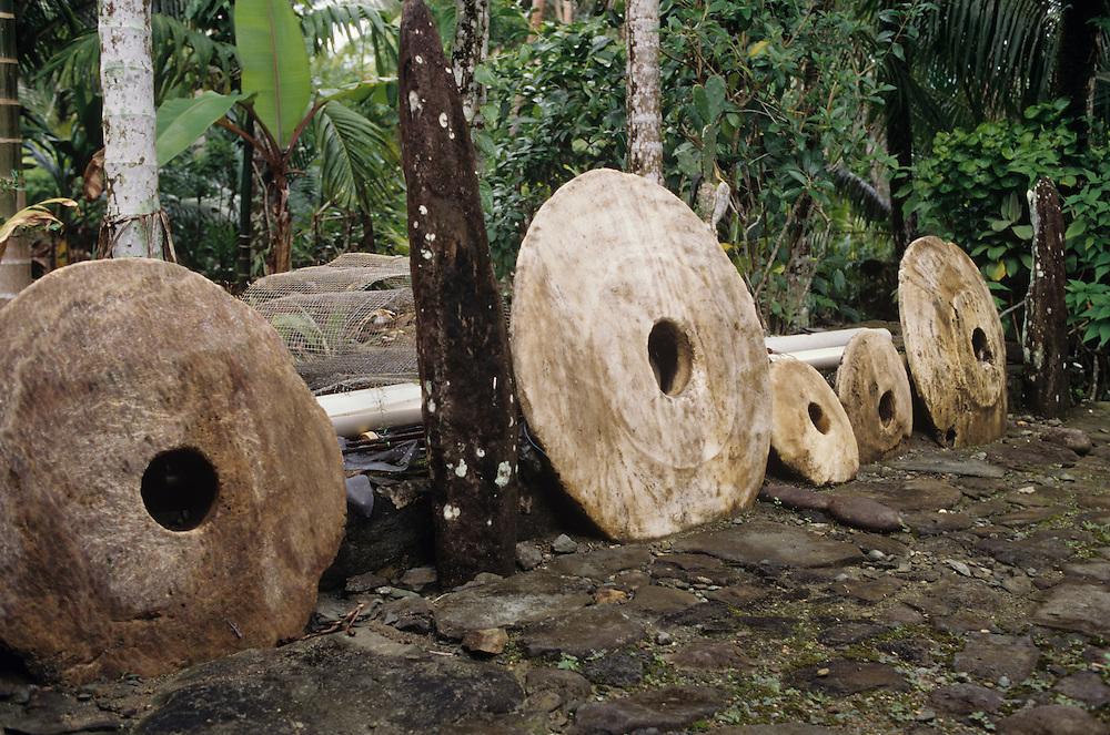 John Mangabchan Property, Rai, Stone money, Yap, Wa`ab, Waqab, Federated States of Micronesia, islands in the Caroline Islands