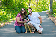 NEWTOWN, PA - MAY 5:  Maureen and John engagement photo session May 5, 2013 at Tyler State Park in Newtown, Pennsylvania. (Photo by William Thomas Cain/Cain Images' Love Wedding Photos) http://www.loveweddingphotos.com