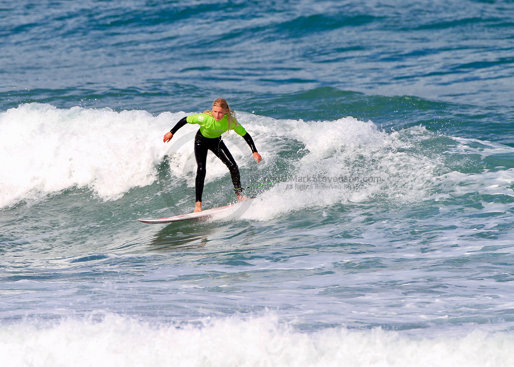 Day 1 of the Emerson's South Island Surfing Champs 2021 held over 3 days of easter