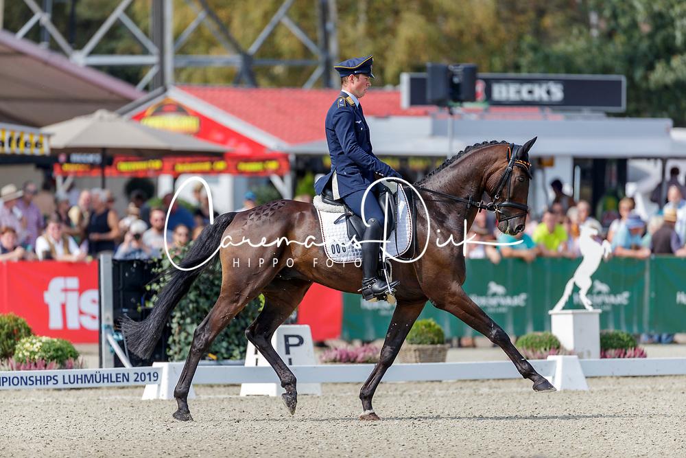 Etzel Felix, GER, Bandit 436<br /> European Championship Eventing<br /> Luhmuhlen 2019<br /> © Hippo Foto - Stefan Lafrentz