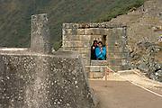 Overlooking Machu Picchu  Peru  Not Released