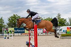 Morssinkhof Simon, BEL, Vivolta de Gree<br /> Belgisch kampioenschap Young Riders - Azelhof - Lier 2019<br /> © Hippo Foto - Dirk Caremans<br /> 30/05/2019