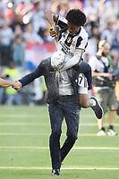 Juan Cuadrado-Massimiliano Allegri<br /> Esultanza Juventus Campione d'Italia . Celebration Juventus Italian championship winner <br />  Torino 21-05-2017 Juventus Stadium Football Calcio Serie A 2016/2017 Juventus - Crotone .<br /> Foto Image Sport / Insidefoto