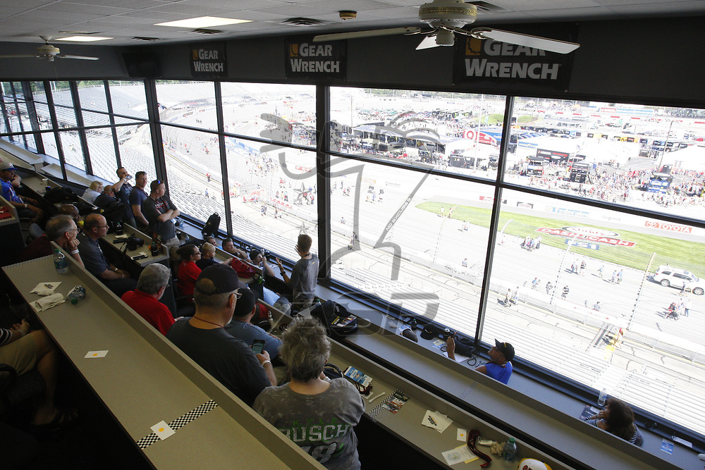 April 30, 2017 - Richmond, Virginia, USA: The Monster Energy NASCAR Cup Series teams take to the track to practice for the Toyota Owners 400 at Richmond International Speedway in Richmond, Virginia.