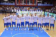 CHOMUTOV 18 AGOSTO 2012<br /> BASKET FIP NAZIONALE ITALIANA<br /> ITALIA - REPUBBLICA CECA<br /> NELLA FOTO NAZIONALE ITALIANA<br /> FOTO CIAMILLO