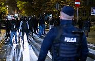 Narodowcy próbowali zaatakować Czarny Spacer w Białymstoku - 28.10.2020