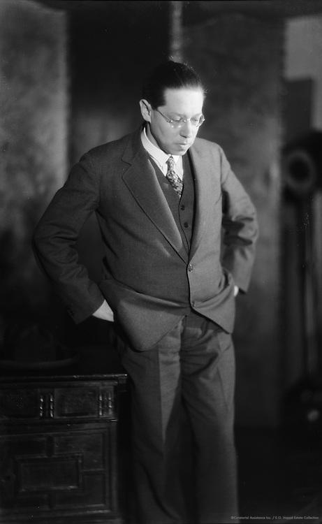 Leon Feuchtwanger, German Author, 1927