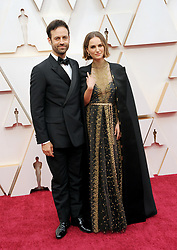 Benjamin Millepied and Natalie Portman at the 92nd Academy Awards held at the Dolby Theatre in Hollywood, USA on February 9, 2020.