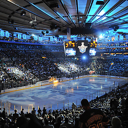 May 16, 2012: General view prior to first period action in game 2 of the NHL Eastern Conference Finals between the New Jersey Devils and New York Rangers at Madison Square Garden in New York, N.Y.