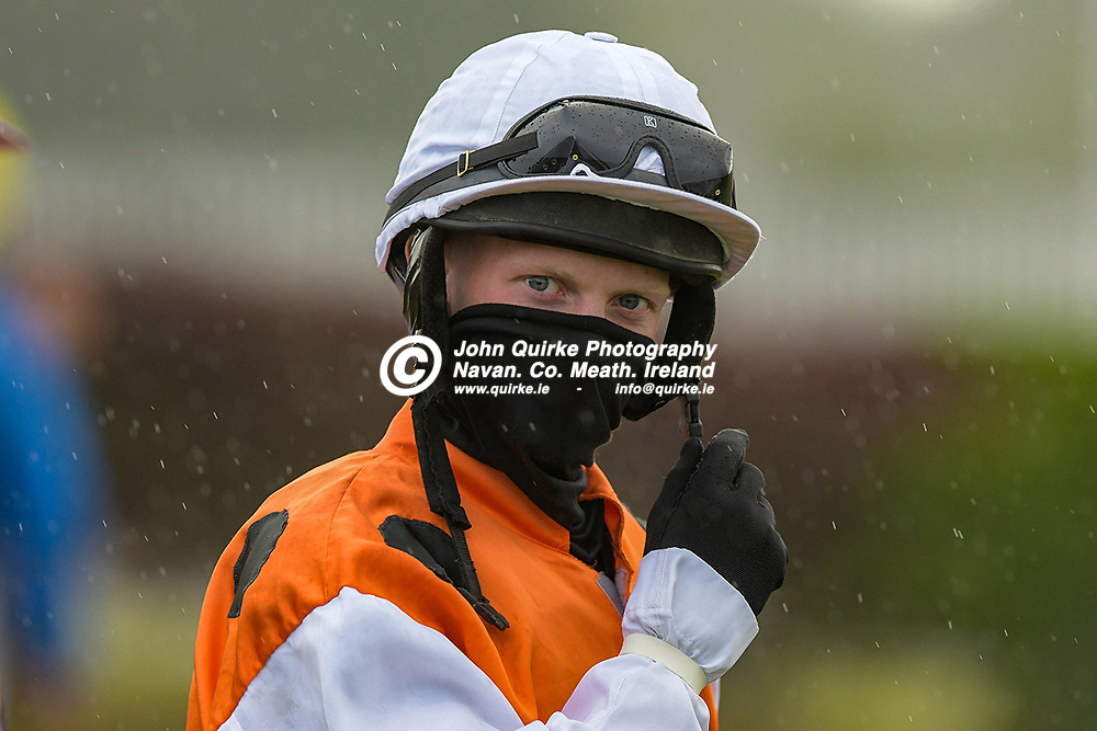 Jockey, Patrick Michael O'Brien,  at Bellewstown Races.<br /> <br /> He's from Garristown.<br /> <br /> Photo: GERRY SHANAHAN-WWW.QUIRKE.IE<br /> <br /> 03-07-2021