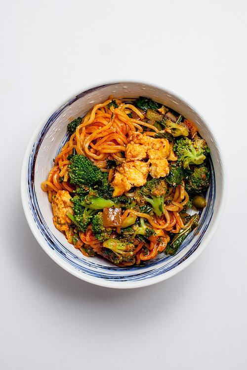Spicy Veggie Noodle Stir Fry from honeygrow ($9.18)