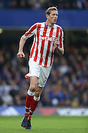 Peter Crouch of Stoke City looking on. Premier league match, Chelsea v Stoke city at Stamford Bridge in London on Saturday 31st December 2016.<br /> pic by John Patrick Fletcher, Andrew Orchard sports photography.