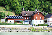 Danube River near Linz, Austria