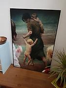 foto in privebezit / formaat 65,5x100cm / metalen baklijst