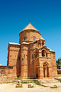 10th century Armenian Orthodox Cathedral of the Holy Cross on Akdamar Island, Lake Van Turkey 81 .<br /> <br /> If you prefer to buy from our ALAMY PHOTO LIBRARY  Collection visit : https://www.alamy.com/portfolio/paul-williams-funkystock/lakevanturkey.html<br /> <br /> Visit our TURKEY PHOTO COLLECTIONS for more photos to download or buy as wall art prints https://funkystock.photoshelter.com/gallery-collection/3f-Pictures-of-Turkey-Turkey-Photos-Images-Fotos/C0000U.hJWkZxAbg