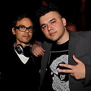 NLD/Hilversum/20100424 -  Playboy Night at the Mansion, dj Roog en Chew Fu