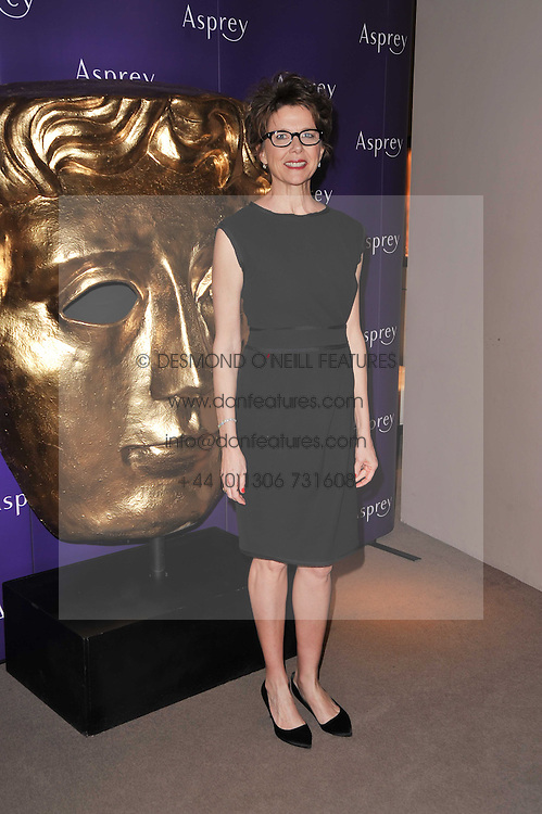 ANNETTE BENING at the BAFTA Nominees party 2011 held at Asprey, 167 New Bond Street, London on 12th February 2011.