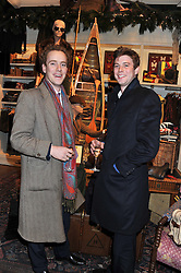 Left to right, TOM INSKIP and ARCHIE SOAMES at a party hosted by TLC to celebrate signing their 5000th member and Ralph Lauren to celebrate the opening of the first Ralph Lauren Rugby store in the UK at 43 King Street, Covent Garden, London on 30th November 2011.