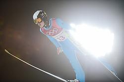 February 10, 2018 - Pyeonchang, Gangwon, South Korea - Jonathan Learoyd ofFrance at mens normal hill final at 2018 Pyeongchang winter olympics at Alpensia Ski Jumping Centre, Pyeongchang, South Korea on February 10, 2018. Ulrik Pedersen/Nurphoto  (Credit Image: © Ulrik Pedersen/NurPhoto via ZUMA Press)