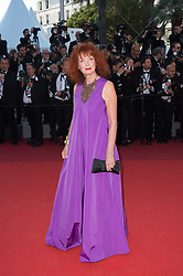 Sabine Azema attending the Closing Ceremony during the 70th annual Cannes Film Festival held at the Palais Des Festivals in Cannes, France on May 28, 2017 as part of the 70th Cannes Film Festival. Photo by Nicolas Genin/ABACAPRESS.COM