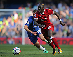 May 6, 2018 - London, Greater London, United Kingdom - Sadio Mane of Liverpool during English Premier League match between Chelsea and Liverpool at Stamford Bridge, London, England on 6 May 2018. (Credit Image: © Kieran Galvin/NurPhoto via ZUMA Press)