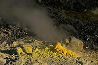 Sulphur, Solfatare, Vulcano Island, Stromboli, Etna, Italy