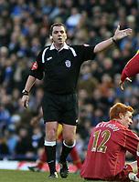 Photo: Mark Stephenson.<br />Birmingham City v Reading. The FA Cup. 27/01/2007.<br />Referee  Mr P Dowd