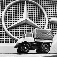 Mercedes-Benz Unimog Pick-up Model Truck, Corgi Press Office