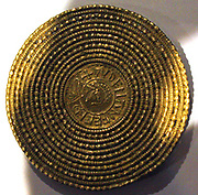 The Canterbury Brooch. Brooches were known as dalc or spennels to the Anglo-Saxons. They were mainly worn by women, especially between AD450-650. Women wore brooches in pairs in order to fasten their dresses, whereas single brooches were probably used to fasten cloaks.