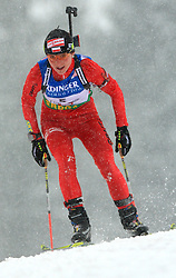 Agnieszka Grzybek (POL) at Women 15 km Individual at E.ON Ruhrgas IBU World Cup Biathlon in Hochfilzen (replacement Pokljuka), on December 18, 2008, in Hochfilzen, Austria. (Photo by Vid Ponikvar / Sportida)