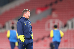 Stoke City Assistant Manager Billy McKinlay - Mandatory by-line: Nick Browning/JMP - 24/11/2020 - FOOTBALL - Bet365 Stadium - Stoke-on-Trent, England - Stoke City v Norwich City - Sky Bet Championship