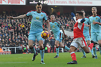 Football - 2016 / 2017 Premier League - Arsenal vs. Burnley<br /> <br /> Dean Marney of Burnley at The Emirates.<br /> <br /> COLORSPORT/ANDREW COWIE