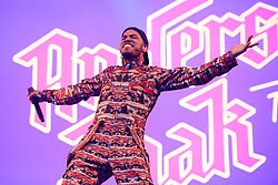 Anderson .Paak performing during the Glastonbury Festival at Worthy Farm in Pilton, Somerset. Picture date: Friday June 23rd, 2017. Photo credit should read: Matt Crossick/ EMPICS Entertainment.