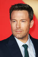 Ben Affleck, Batman V Superman: Dawn of Justice - European film premiere, Leicester Square, London UK, 22 March 2016, Photo by Richard Goldschmidt