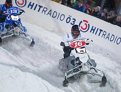 07.12.2014, Saalbach Hinterglemm, AUT, Snow Mobile, im Bild HBRacing // during the Snow Mobile Event at Saalbach Hinterglemm, Austria on 2014/12/07. EXPA Pictures © 2014, PhotoCredit: EXPA/ JFK