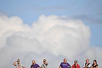 Spectators attend the match with clouds in the background <br /> Firenze 02-09-2018 Stadio Artemio Franchi Football Calcio Serie A 2018/2019 Fiorentina - Udinese  <br /> Foto Andrea Staccioli / Insidefoto