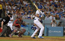 June 28, 2017 - Los Angeles, California, U.S. - Los Angeles Dodgers' Cody Bellinger during a Major League baseball game against the Los Angeles Angels at Dodger Stadium on Tuesday, June 27, 2017 in Los Angeles. (Photo by Keith Birmingham, Pasadena Star-News/SCNG) (Credit Image: © San Gabriel Valley Tribune via ZUMA Wire)