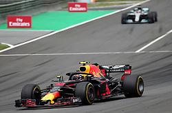 May 13, 2018 - Barcelona, Spain - Max Verstappen, team Red Bull, during the GP Spain F1, on 13th May 2018 in Barcelona, Spain. (Credit Image: © Joan Valls/NurPhoto via ZUMA Press)