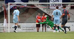 Robert Olejnik.<br /> Vaduz 2 v 0 Falkirk FC at the Rheinpark Stadium for their Europa League second-round qualifier against Vaduz in Liechtenstein.<br /> ©2009 Michael Schofield. All Rights Reserved.